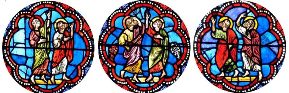 cathédrale de Clermont, médaillons de l'Ascension