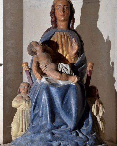Bansat, église, Vierge à l'enfant du XIVe