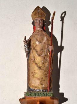 saint Bonnet, statue, Saint-Bonnet-près-Orcival