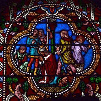 martyr de saint Priest, Volvic, médaillon de Martial Mailhot