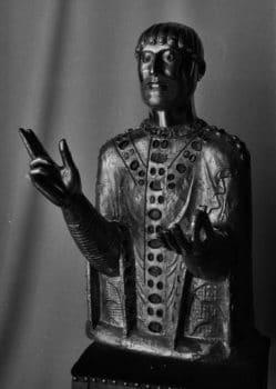saint Baudime, reliquaire de l'église de Saint-Nectaire, photo Bernard Craplet