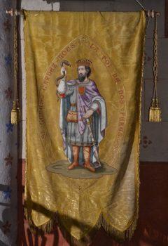 saint Genès le comte, bannière, église de Combronde