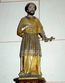 saint Jean-François Régis, statue, église de Saint-Julien de Coppel