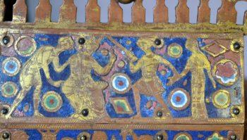 Chamelières, trésor de la cathédrale, reliquaire Sainte Thècle