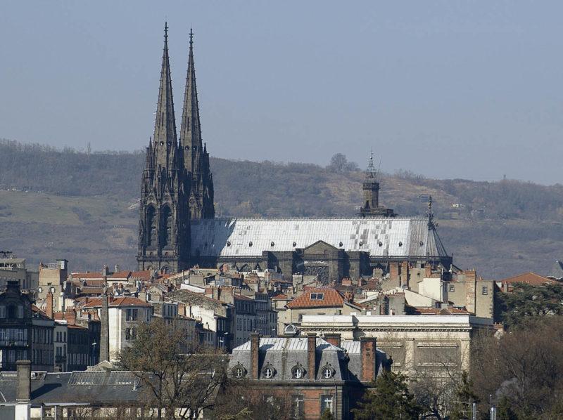Cathédrale Clermont-Ferrand, vue générale