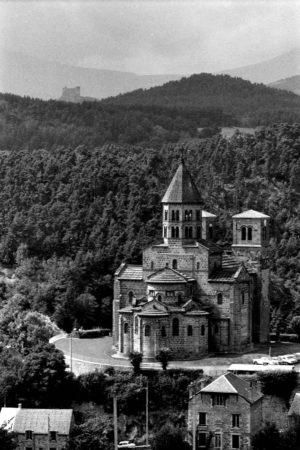 Saint-Nectaire, église, photo Bernard Craplet