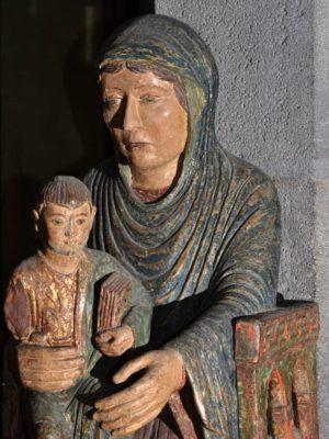 Vierge en majesté, trésor de la Cathédrale de Clermont