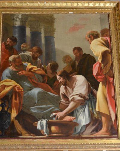 Simon Vouet, Lavement des pieds, trésor de la Cathédrale de Clermont