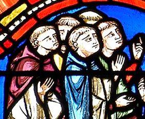 chapitre de Clermont, médaillon du XIIIe, cathédrale de Clermont